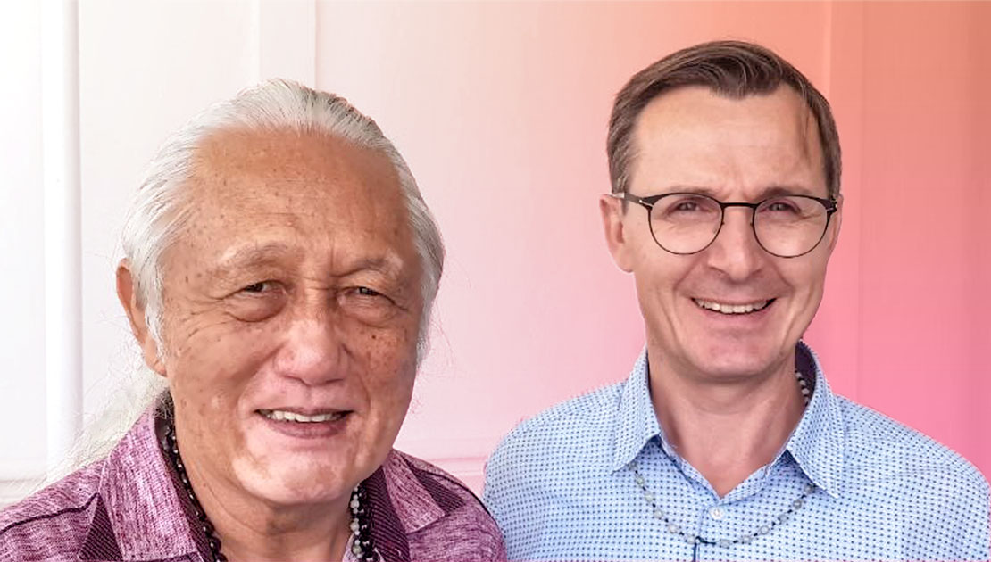 Dr. Lim und Klaus Weissengruber