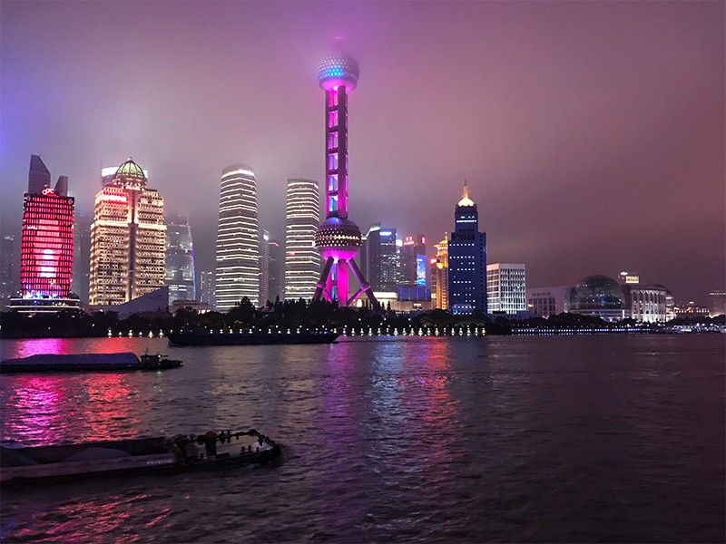 Firmengebäude in Shanghai nutzen Business Feng-Shui